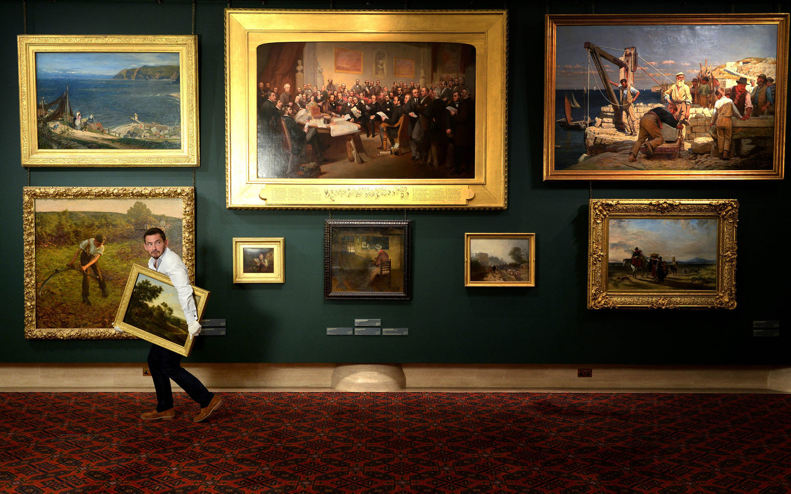 British Museums Swap Masterpieces Fake Art Travel Leisure