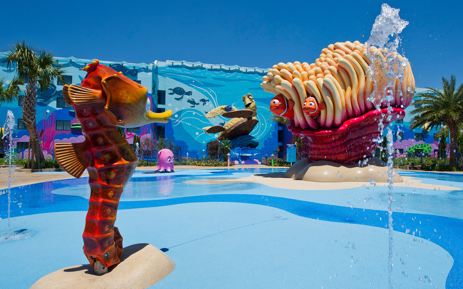 Disney Art of Animation Resort Finding Nemo