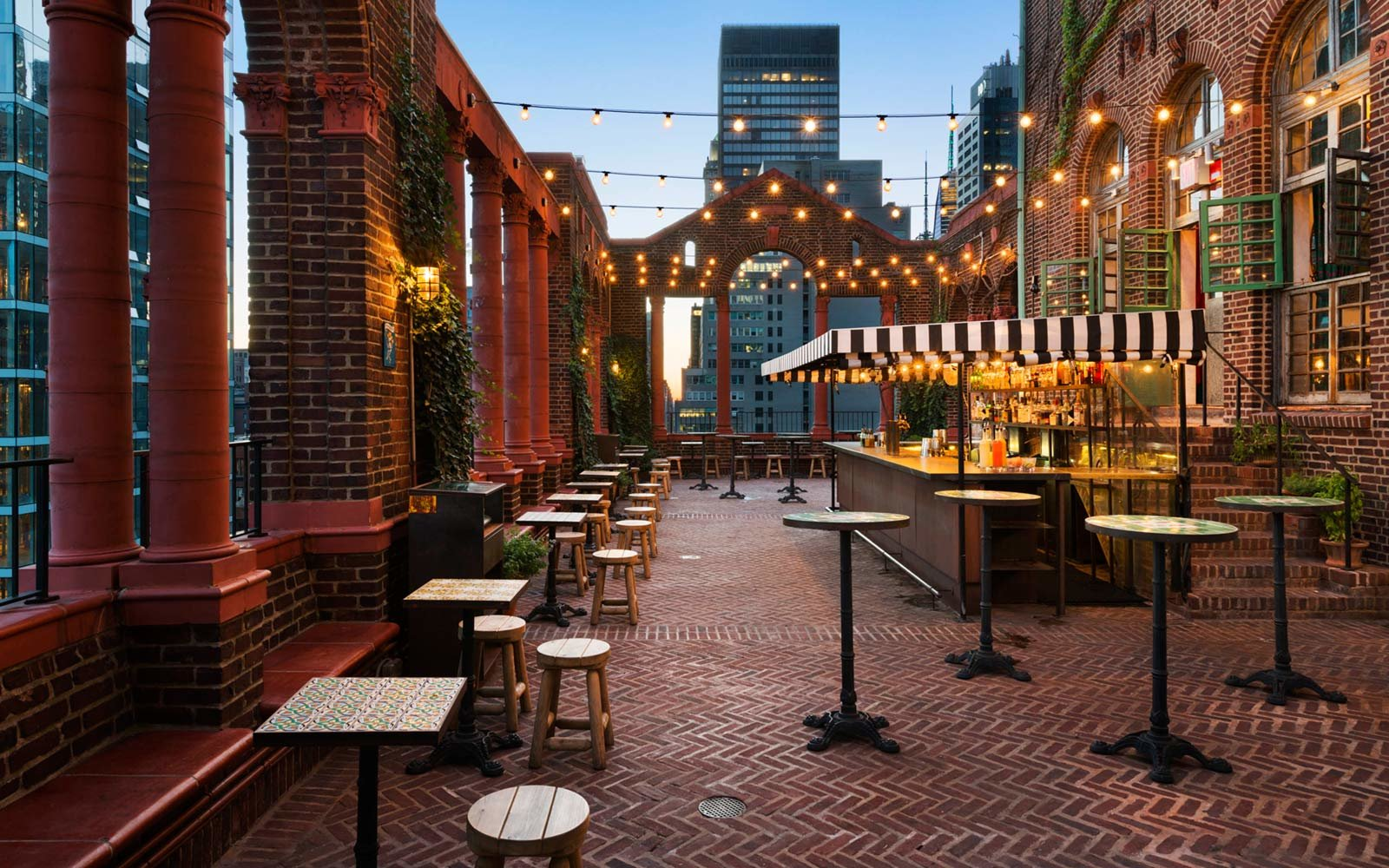 The Best Outdoor Happy Hours In New York City