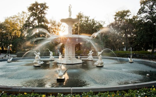 Image result for images forsyth park savannah