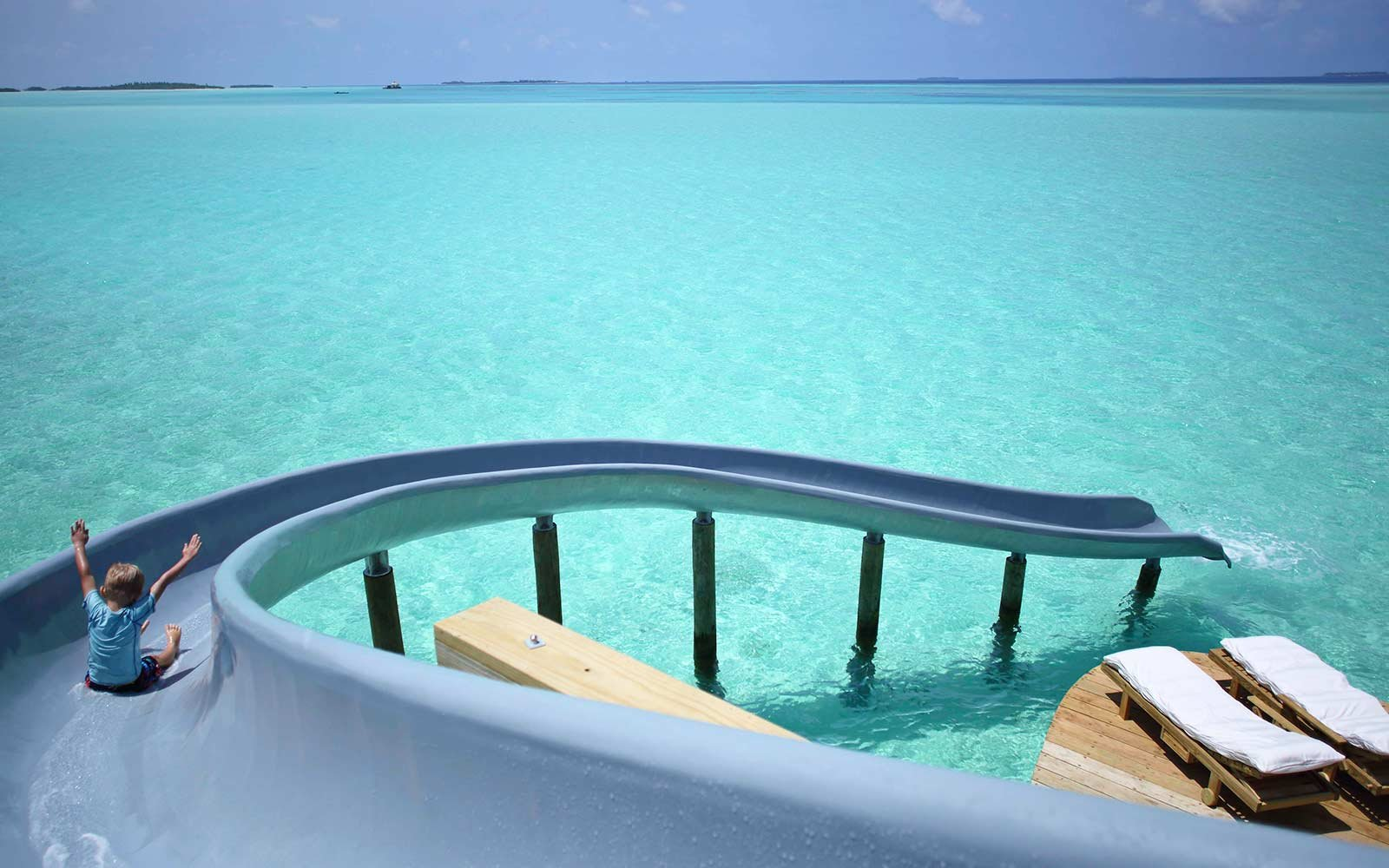 Insane Waterslide Lands In Gorgeous Turquoise