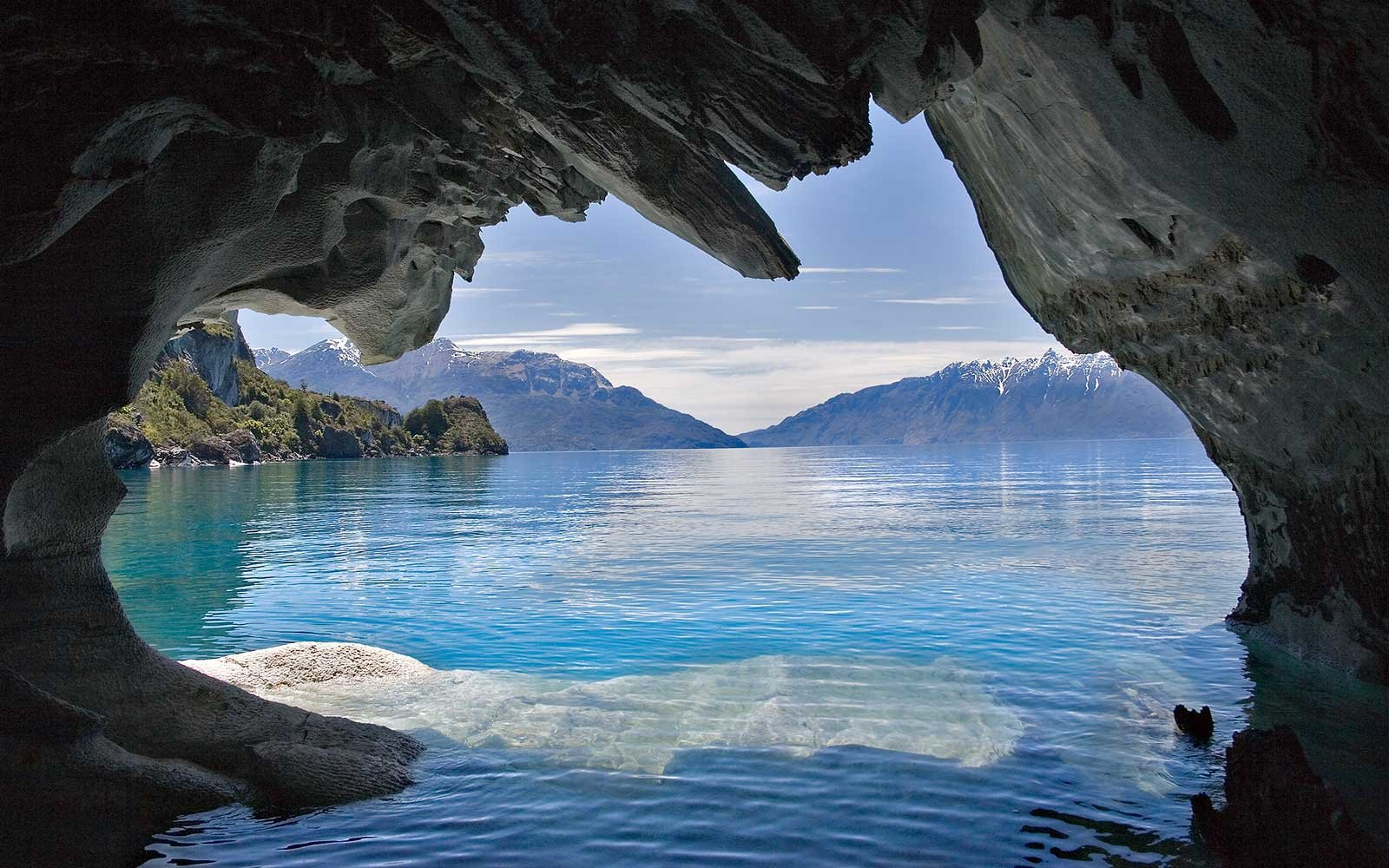 Ceiling Wallpaper 3d In Photos Patagonia S Stunning Marble Caves Travel