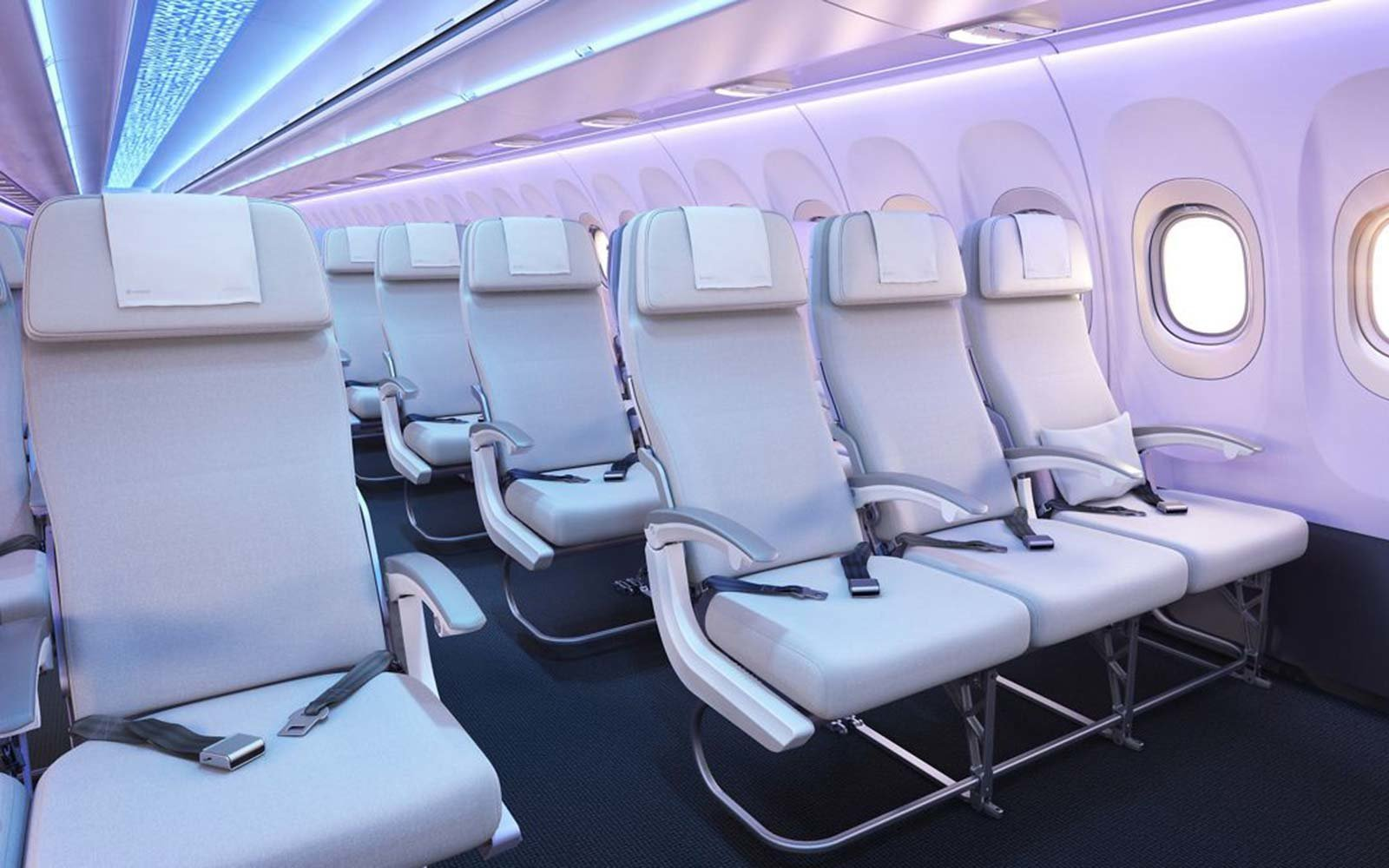 Airbus Reveals Design To Give Passengers More Room