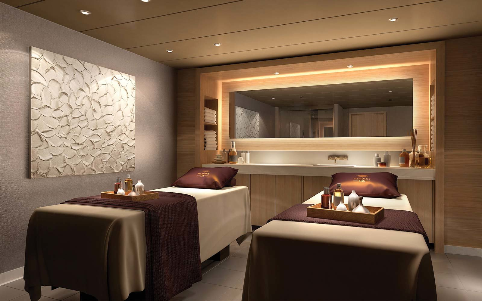 This New Cruise Ship Is Bringing a Gokart Track Luxe Spa