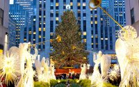 Hotel With View Of Rockefeller Center Christmas Tree ...