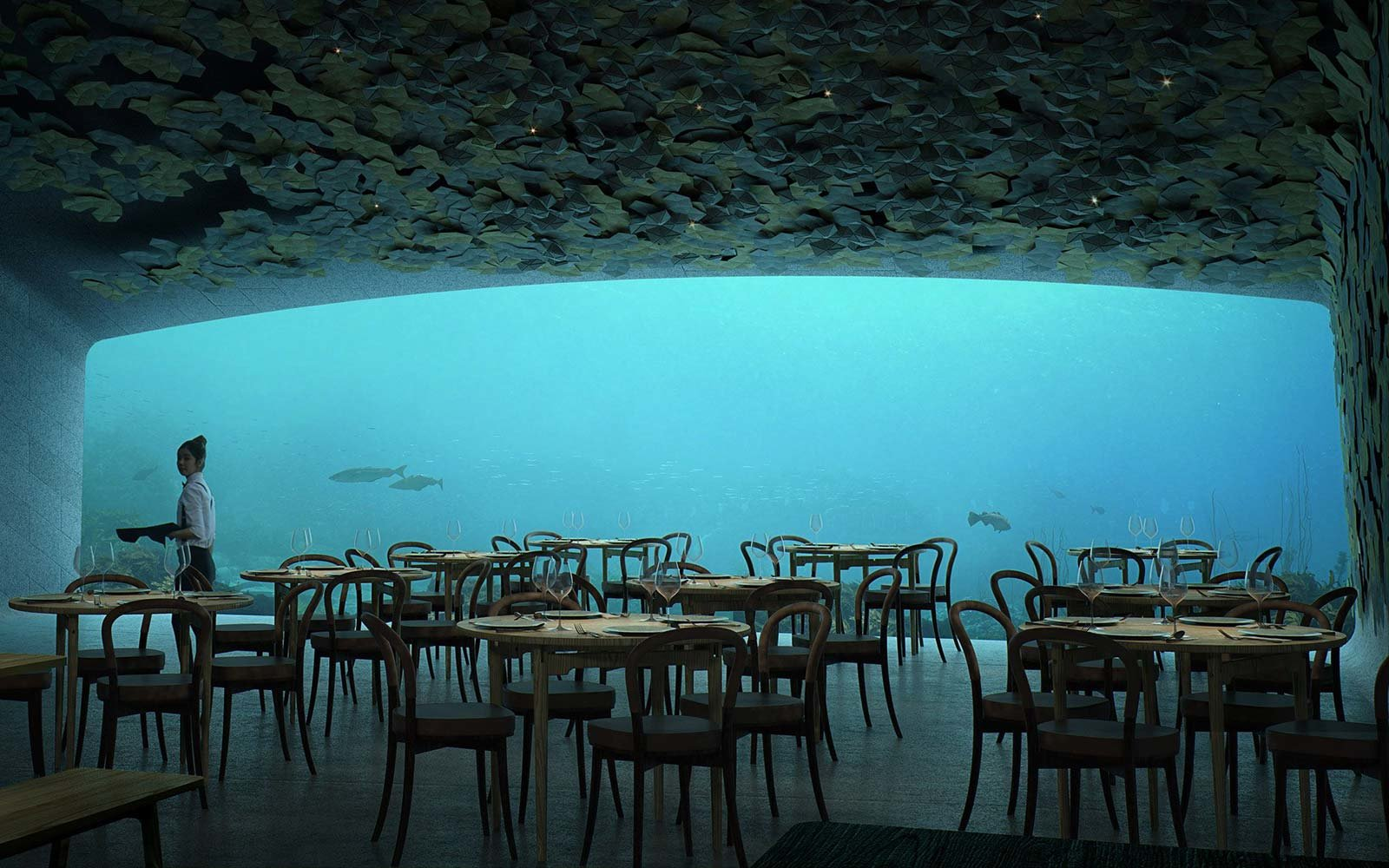 World Largest Underwater Restaurant