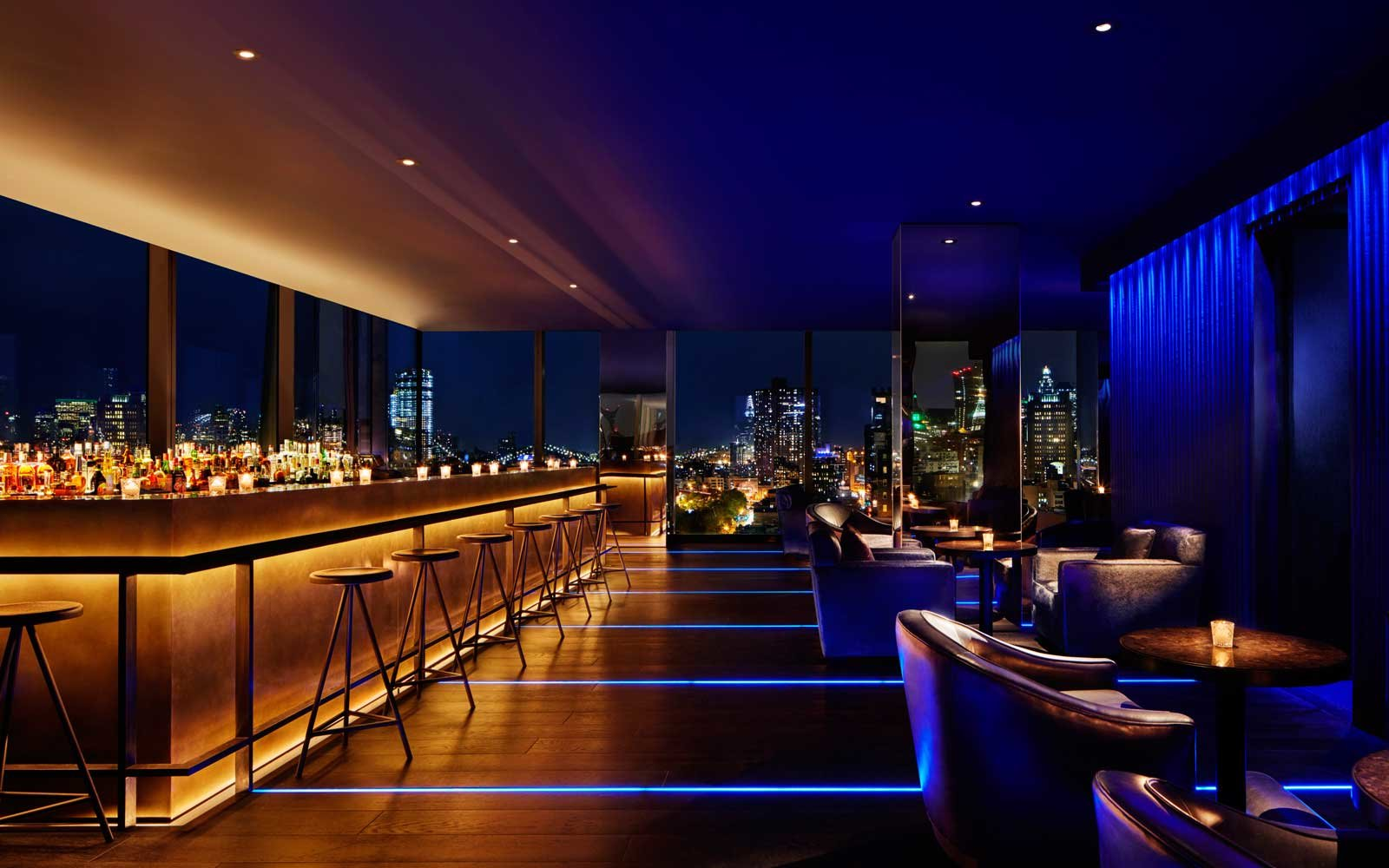 Cool Rooftop Hotel Bars