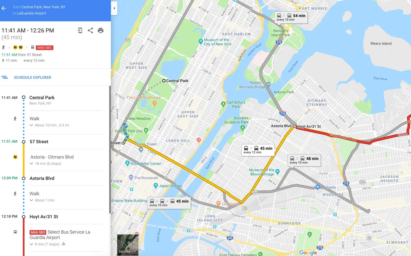 Google Maps' New Feature Will Make Sure You Never Miss Your Stop Again | Travel + Leisure