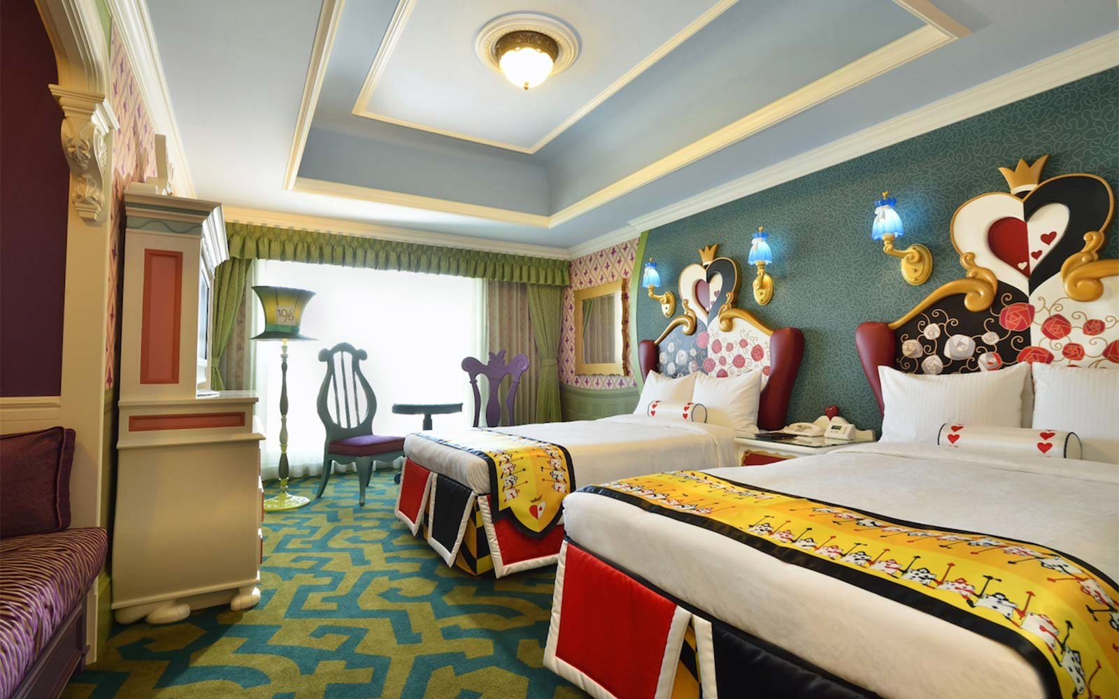 Disneyland Themed Hotel Rooms