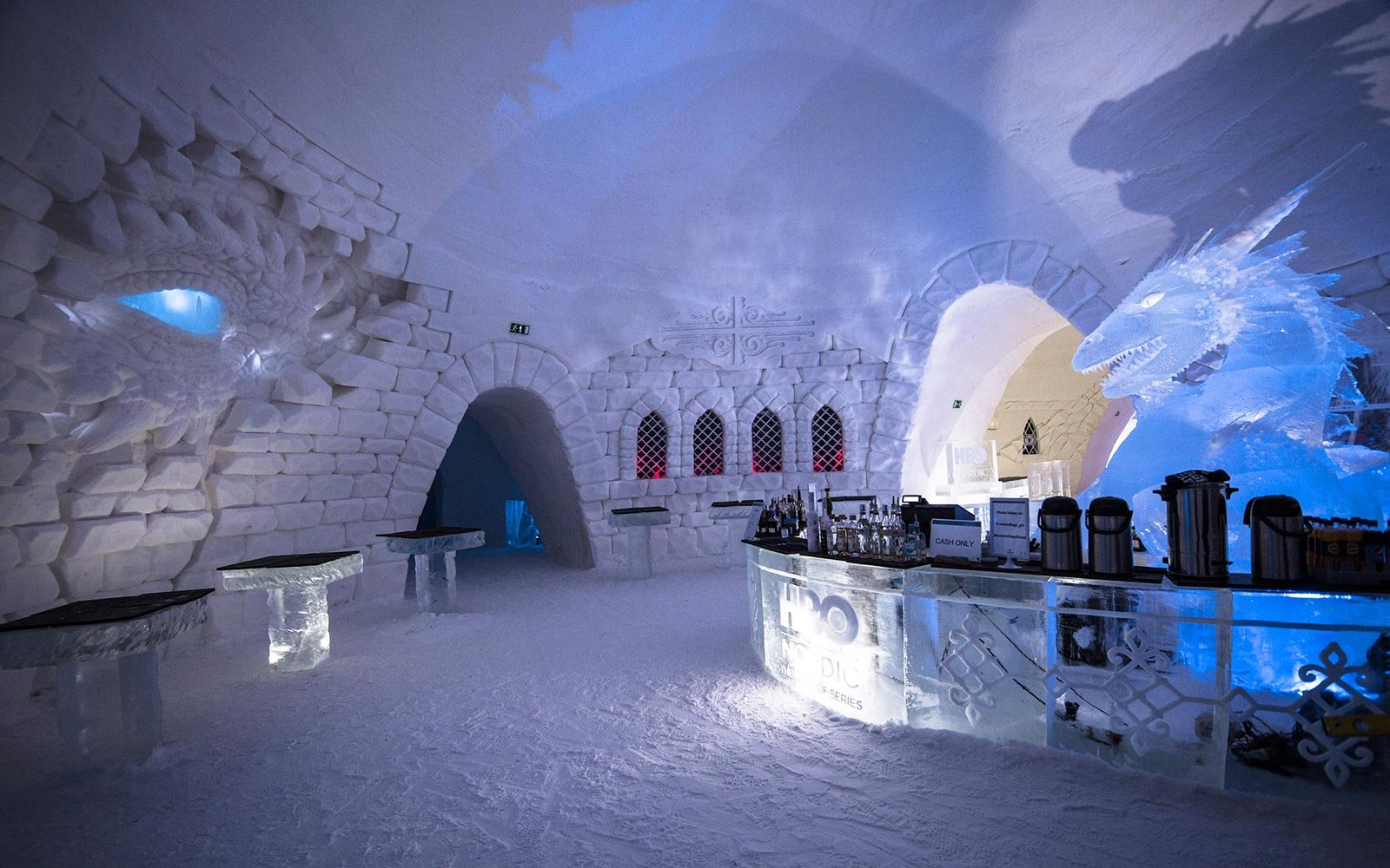 Game Of Thrones Ice Hotel Make Feel