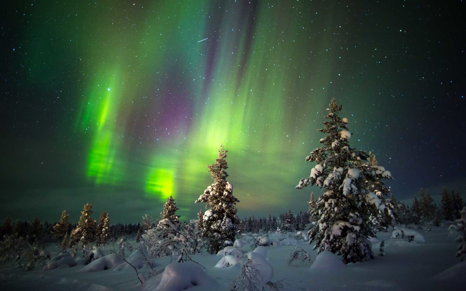 Places Northern Lights In March 2018