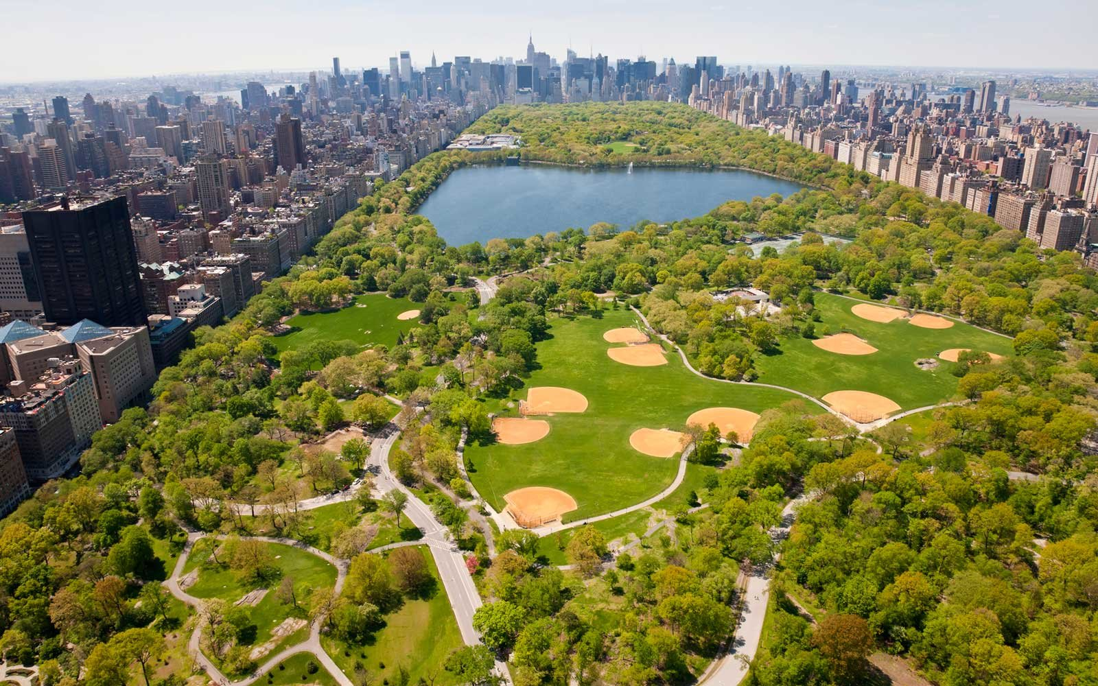 New York Central Park Aerial View