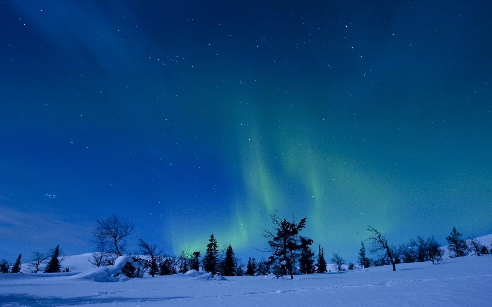 Places Northern Lights In February