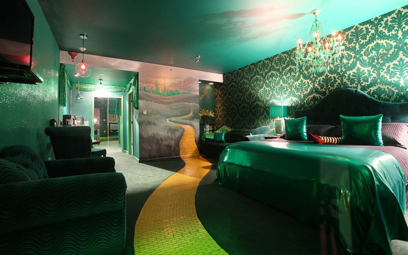 Amazing Hotel Rooms Inspired Favorite Film And