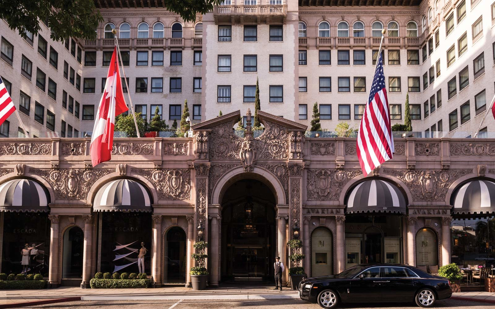 A Four Seasons Beverly Wilshire Hotel Beverly Hills