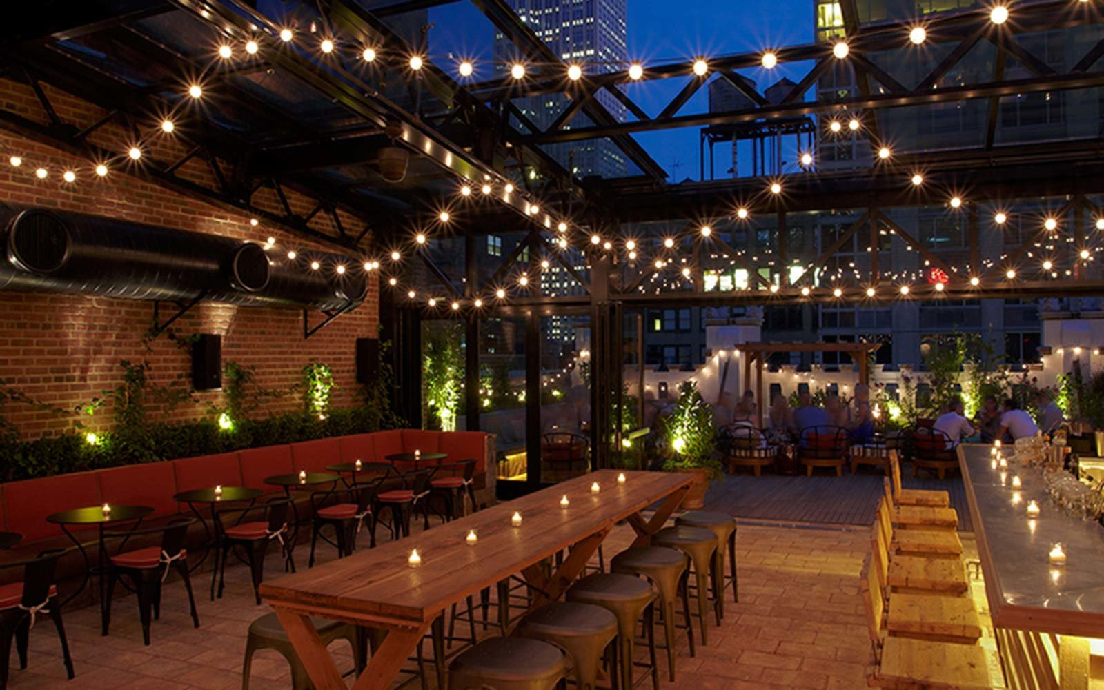 Refinery Hotel Rooftop Bar NYC