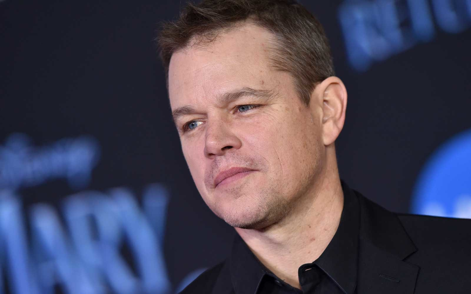 Matt Damon Had To Borrow A Suit For His Davos Speech After