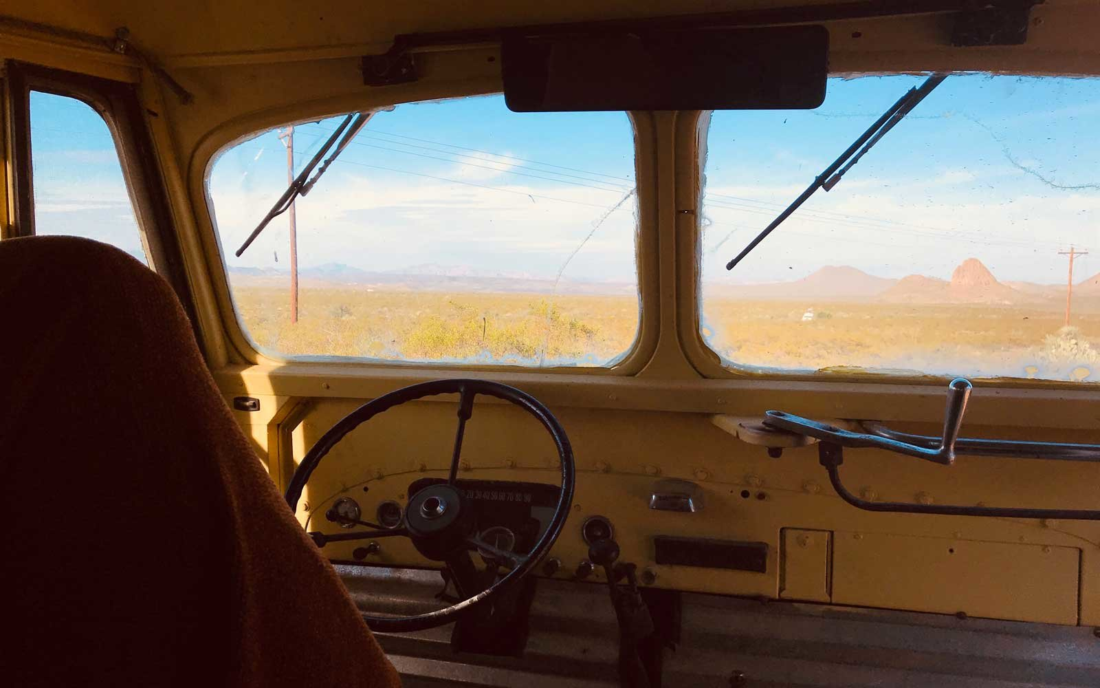 Retro School Bus Airbnb With Incredible
