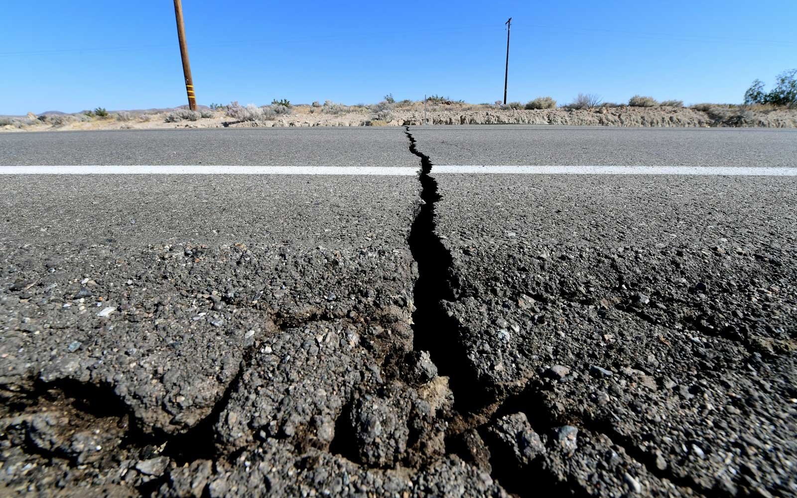 Satellite Images Show Large Crack Formed In The Earth