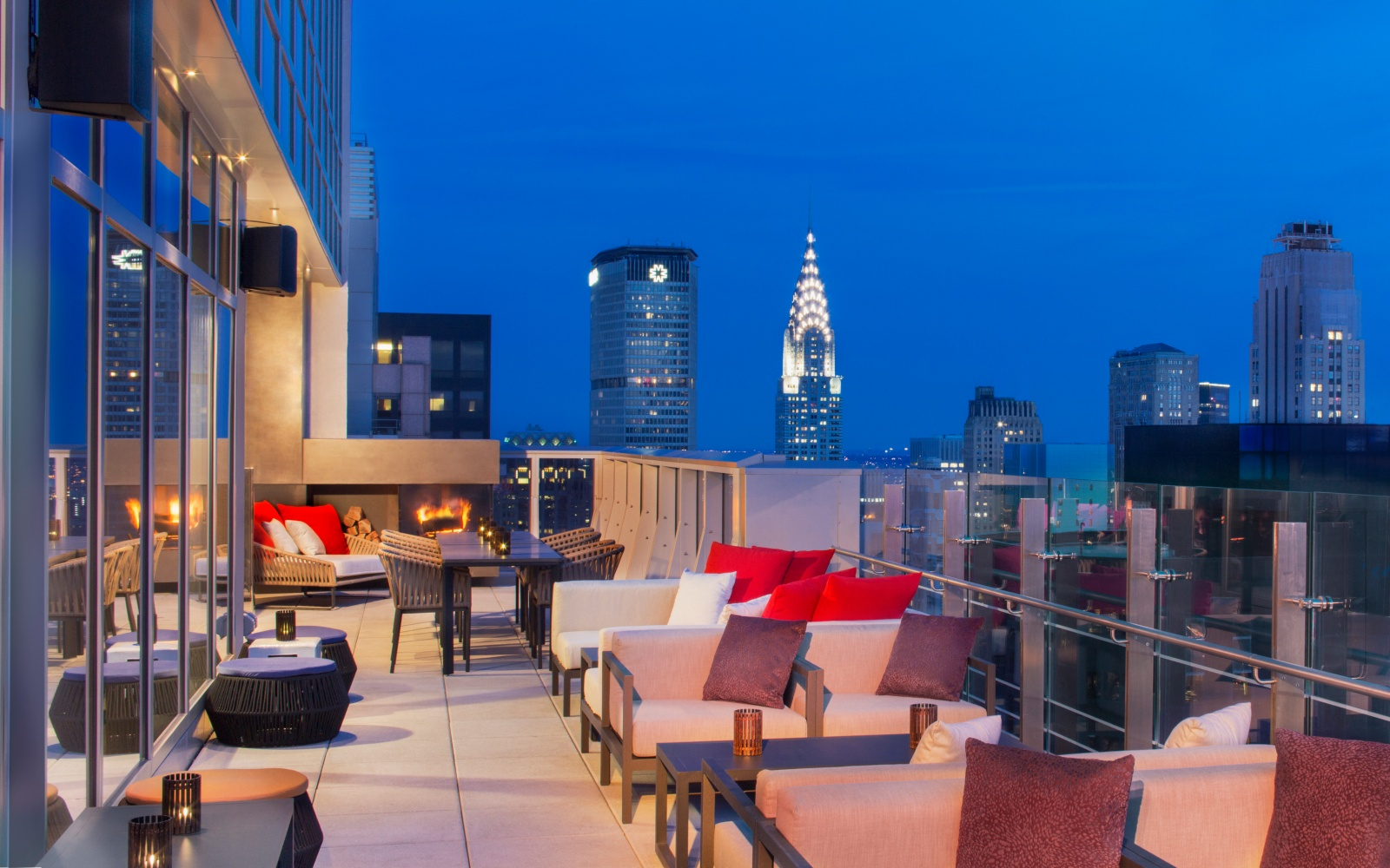 Hyatt Times Square Rooftop Bar NYC