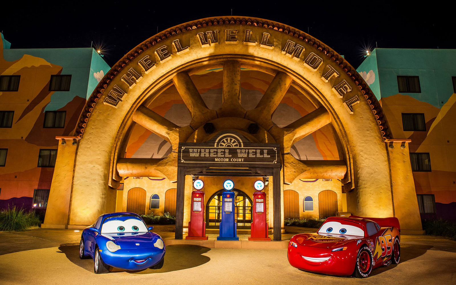 Disney World Art of Animation Cars