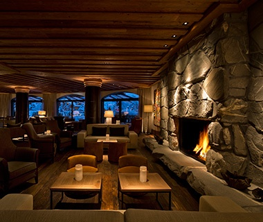 Most Romantic Hotel Fireplaces  Travel  Leisure