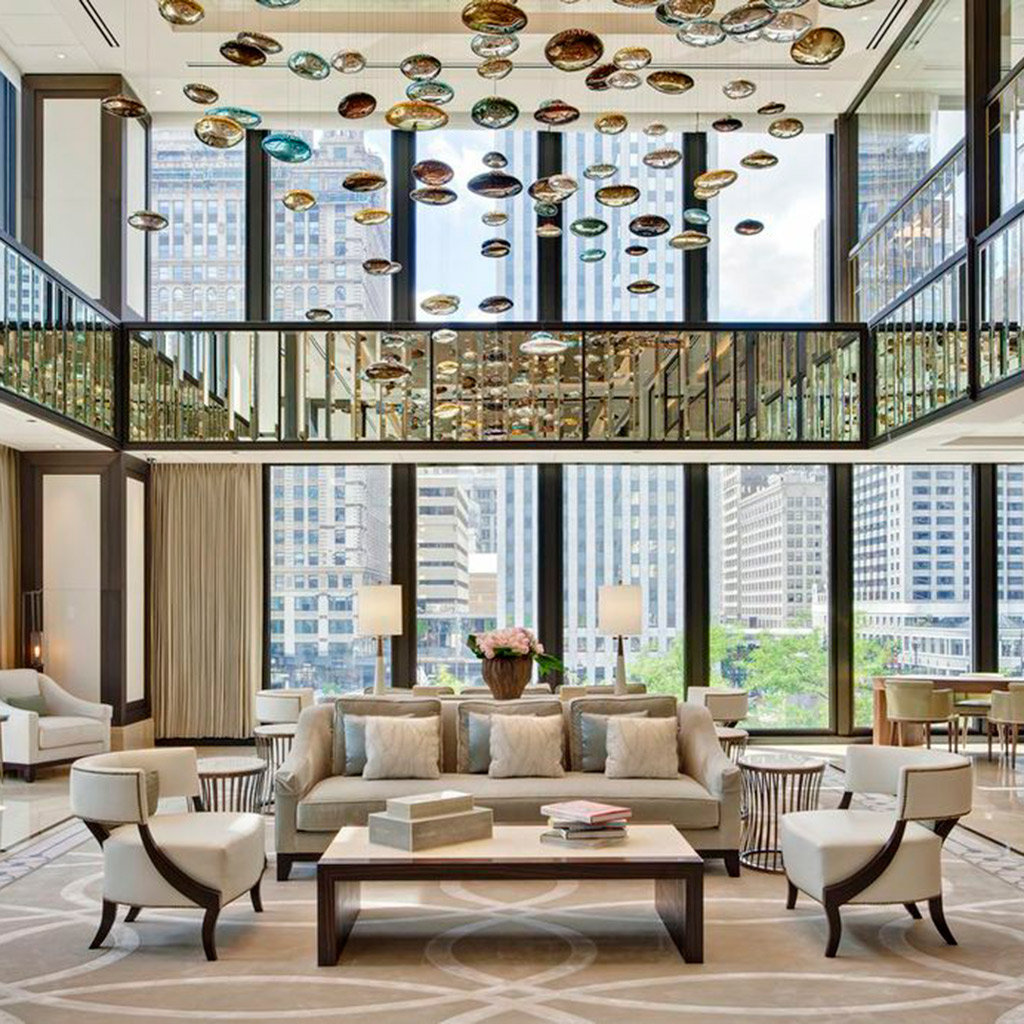 Luxury Hotels In Chicago Travel Leisure