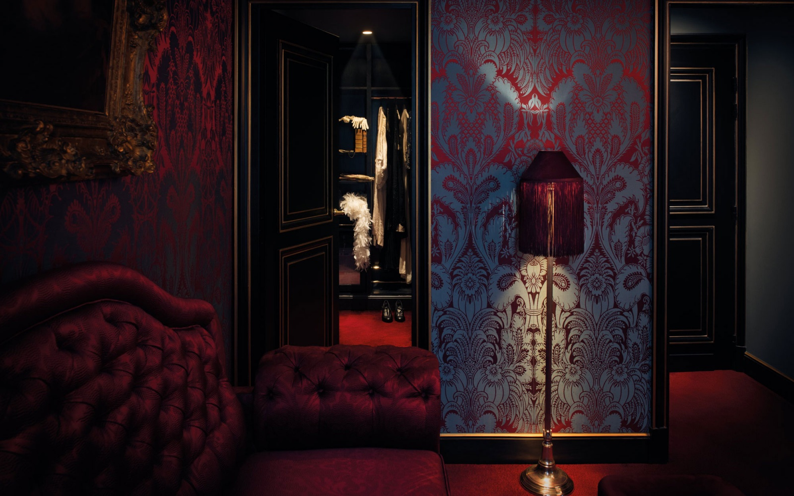 In Paris Luxury Hotel With Design Steeped Sex