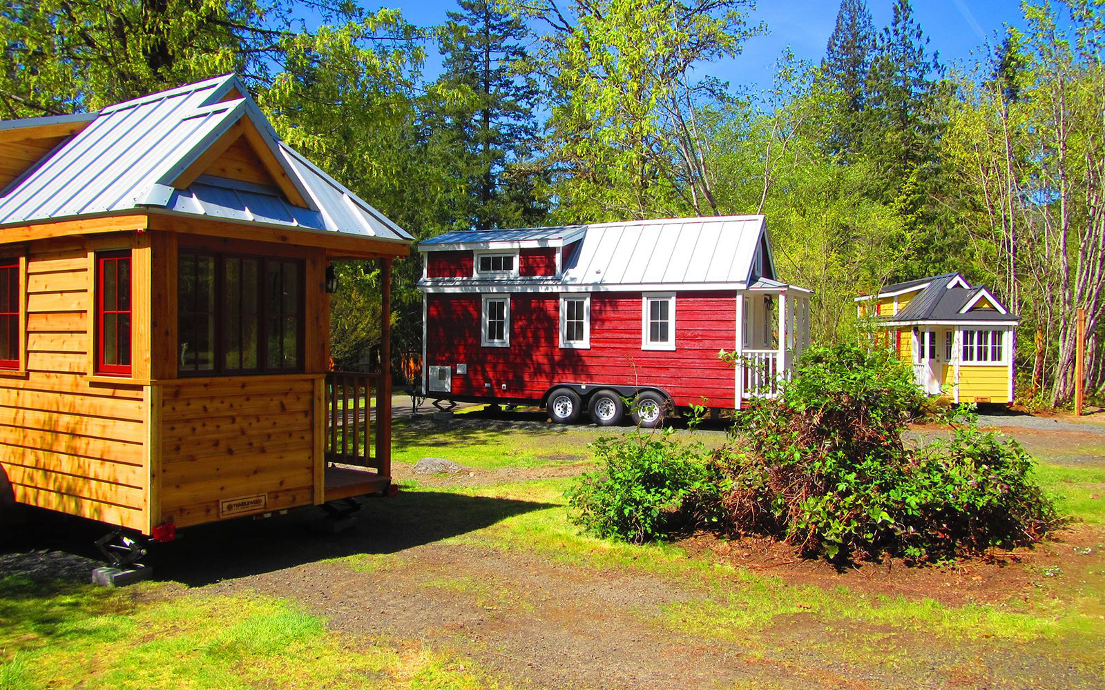 You Can Now Stay In A Tiny House Resort On Oregon S Mt