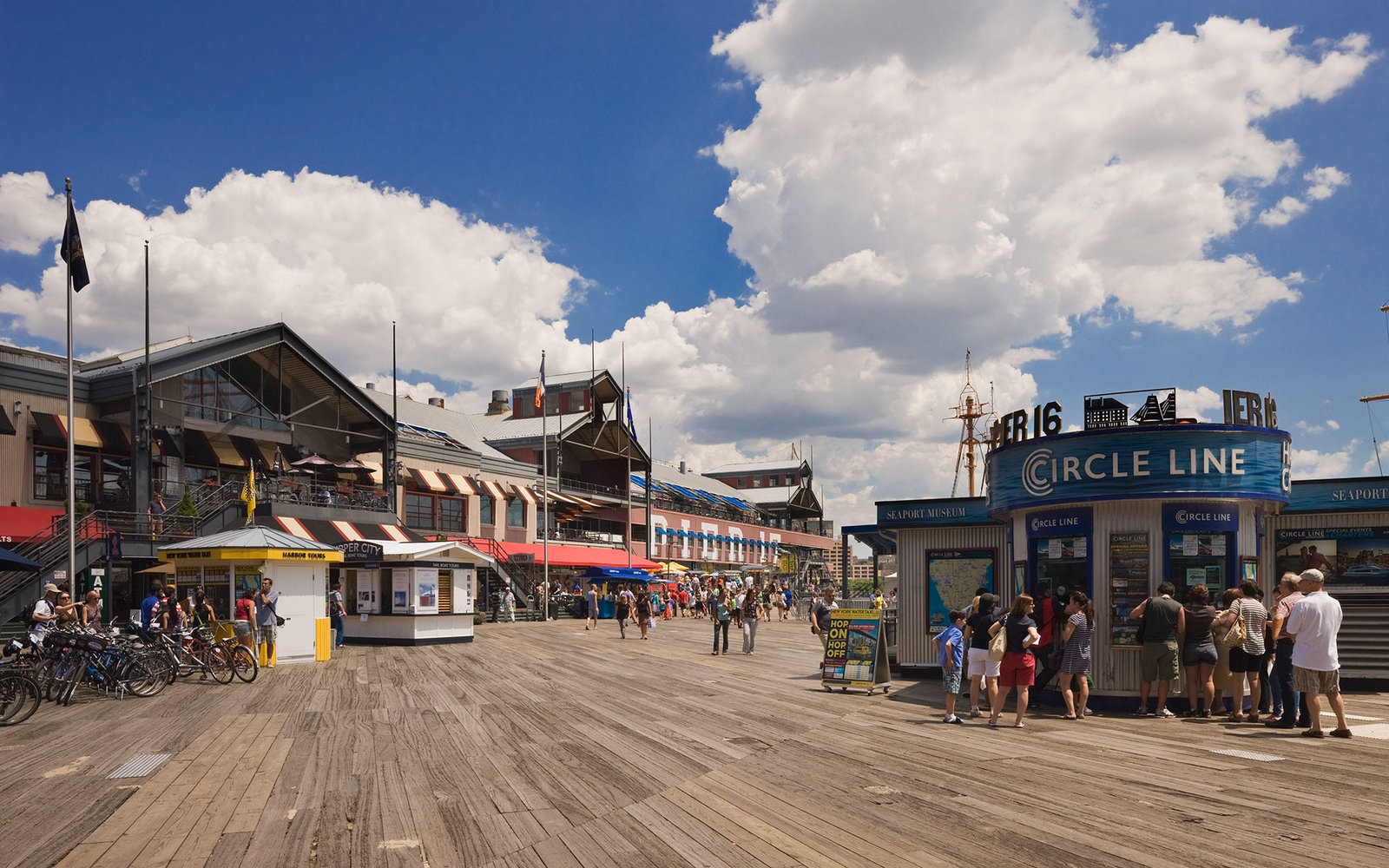 In York South Street Seaport Travel