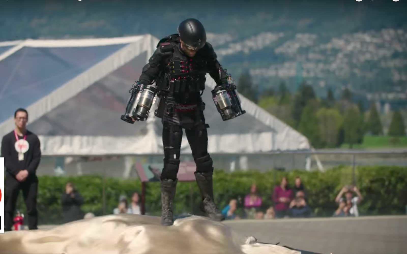 Real-life 'iron Man' Breaks Record Fastest Jet Pack