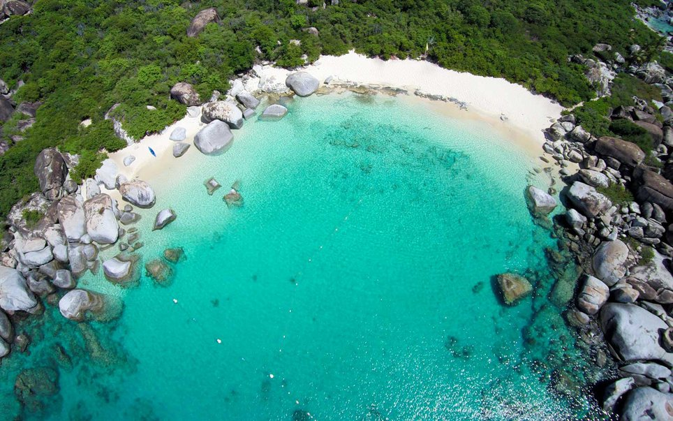 Devil's Bay,  Virgin Gorda,  British Virgin Islands