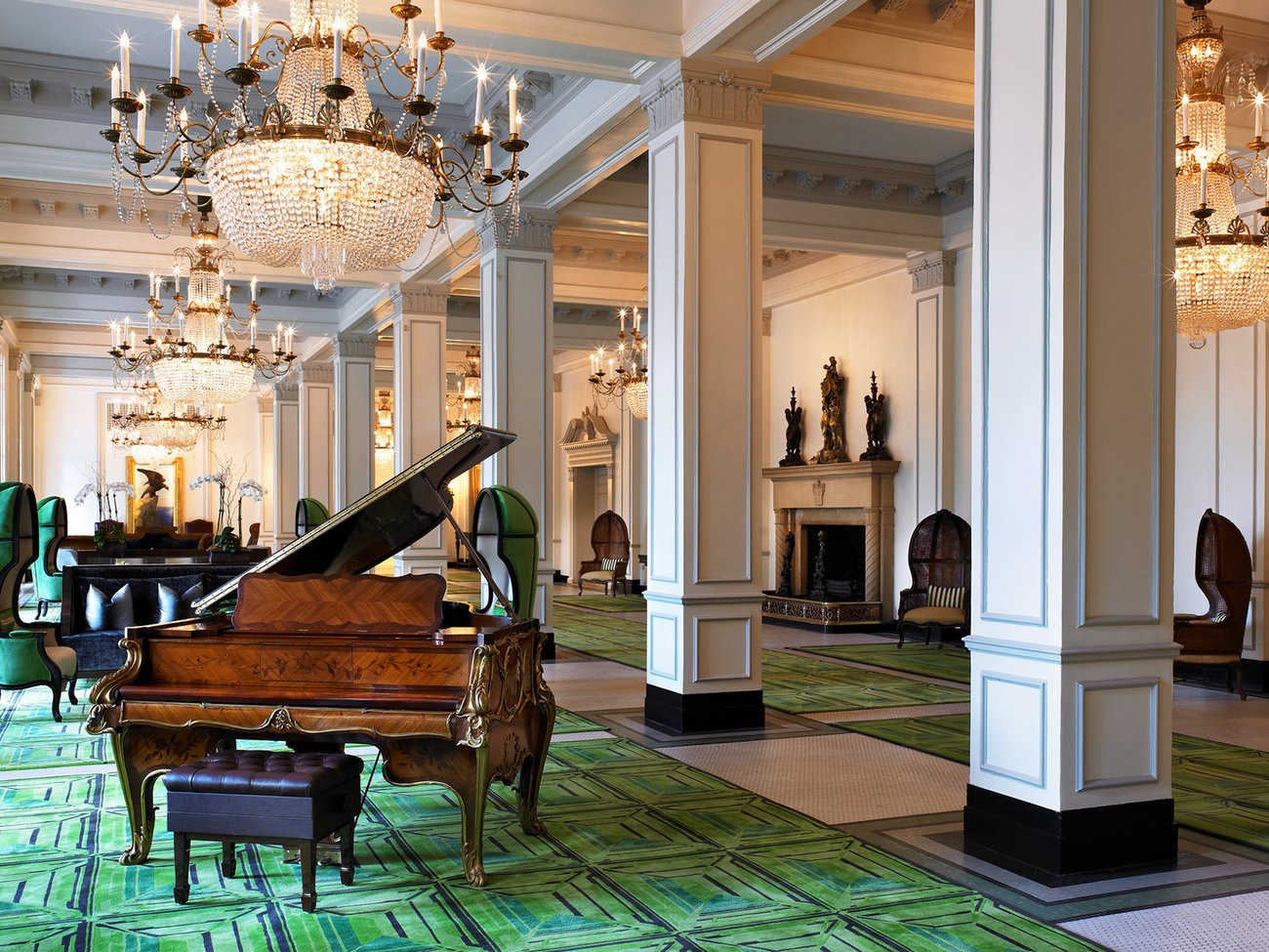 Hotel Piano Lounges Travel Leisure