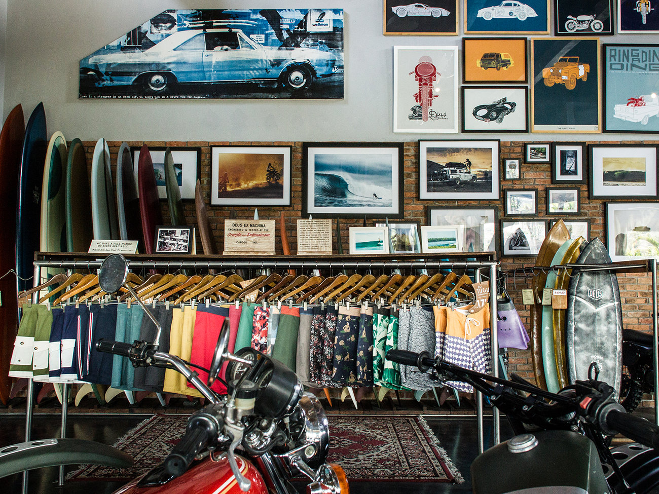 Deus Machina Travel Leisure