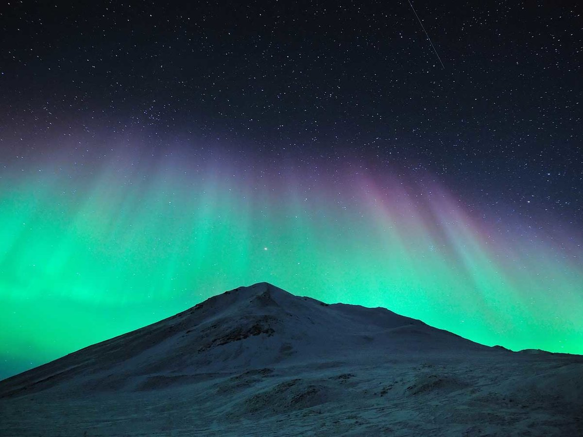 Places Northern Lights In January