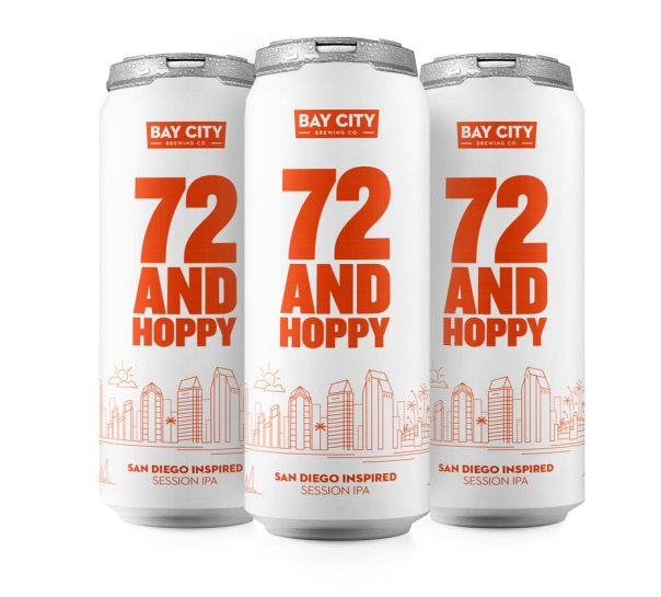 "San Diego's official beer is called ""72 and Hoppy"""