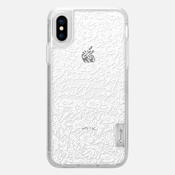 Kind Words Are Like Honey iPhone 7 Case by Hello Joy