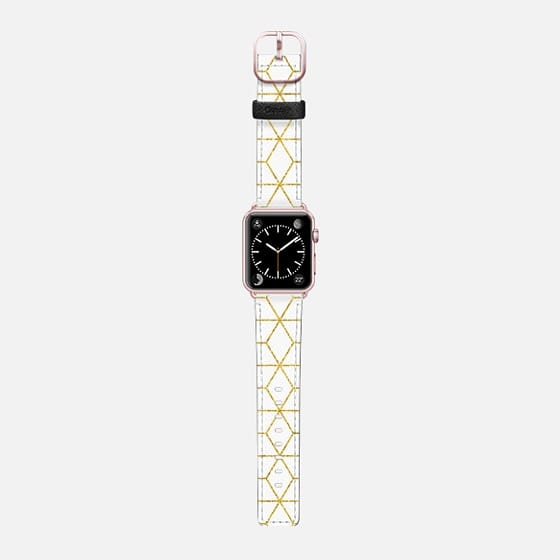 Gold + Geometric Watch Band Apple Watch Band (42mm) by 83