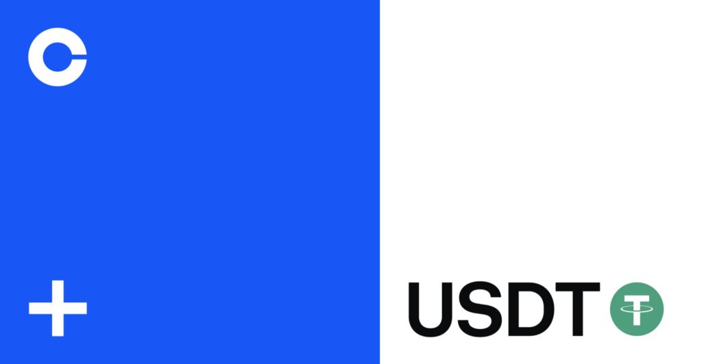 Tether (USDT) is now available on Coinbase
