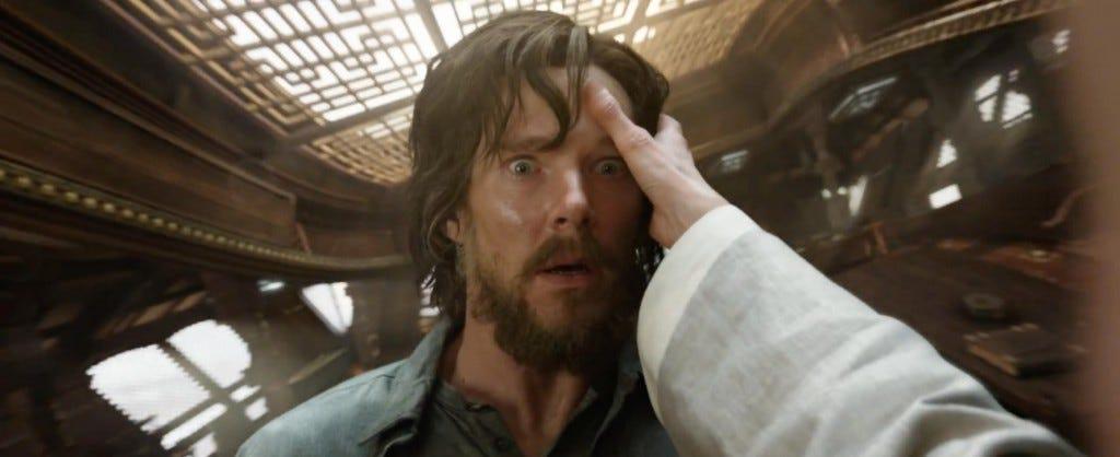 Benedict Cumberbatch em Doutor Estranho (2016)