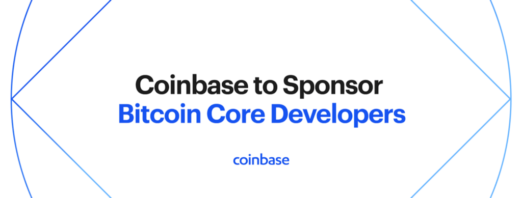 Coinbase will sponsor two Bitcoin Core developers with first Crypto Community Fund grants