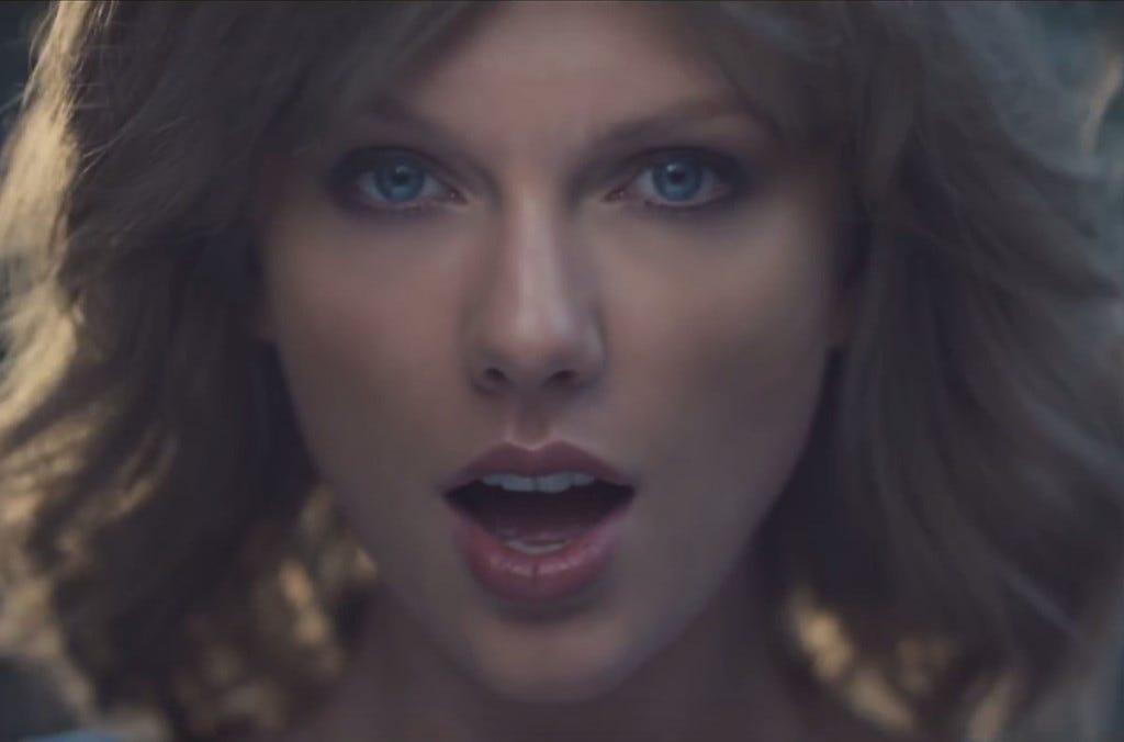 Saindo do mato com Taylor Swift