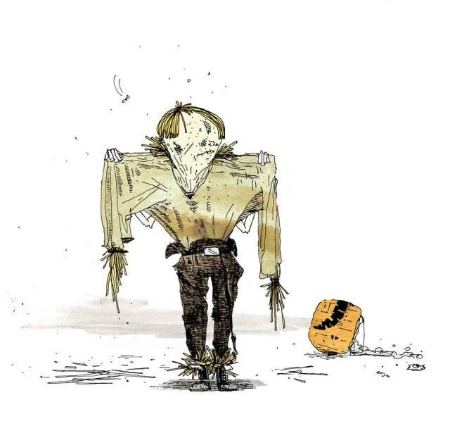Eric Mutis Scarecrow