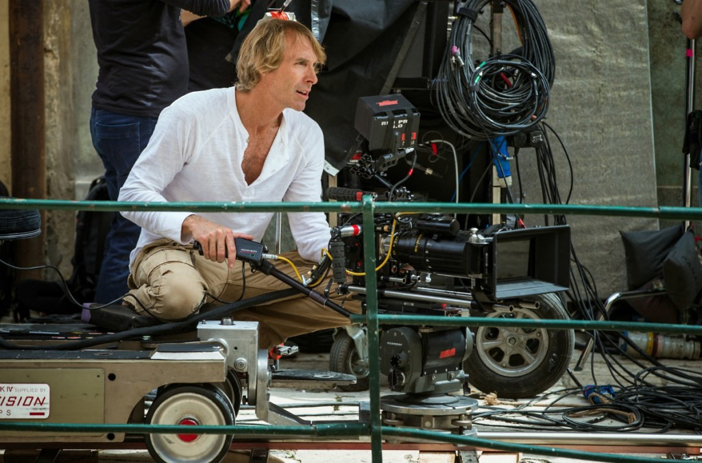 Director Michael Bay on the set of 13 Hours: The Secret Soldiers of Benghazi from Paramount Pictures and 3 Arts Entertainment / Bay Films in theatres January 15, 2016.