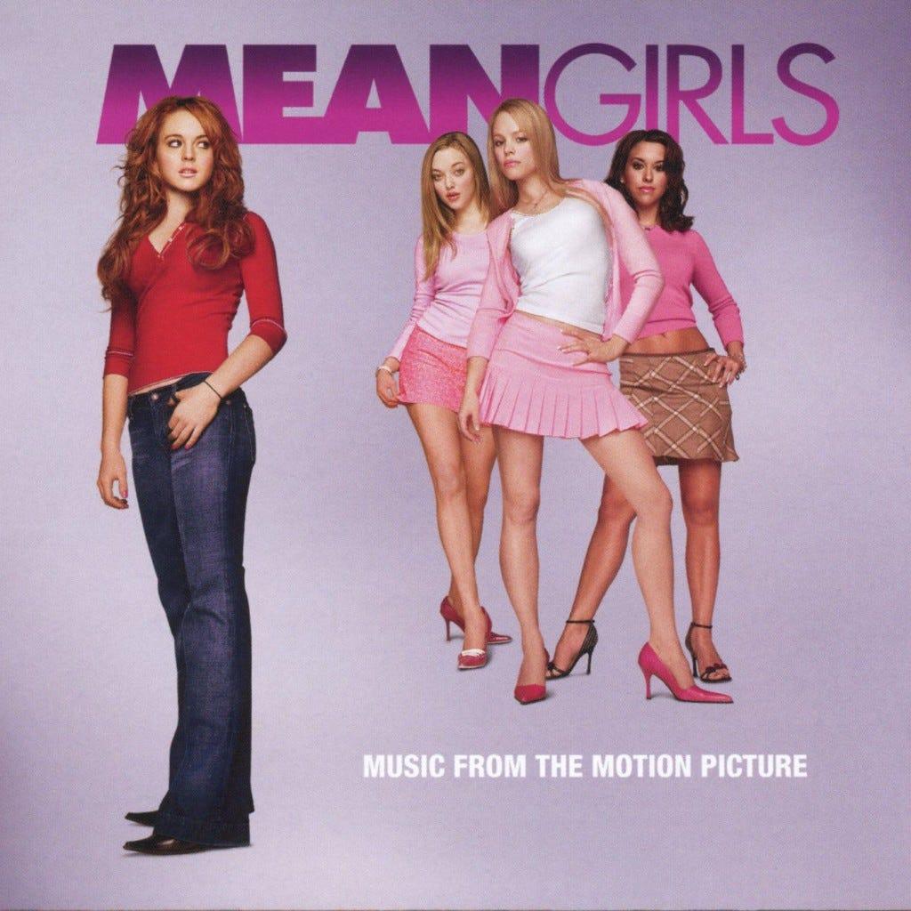Meninas Malvadas, mean girls