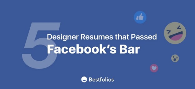 1*3i0AVzqjQRDTkVFHtHD9eg 5 Amazing Designer Resumes that Passed Facebook's Bar Design Random
