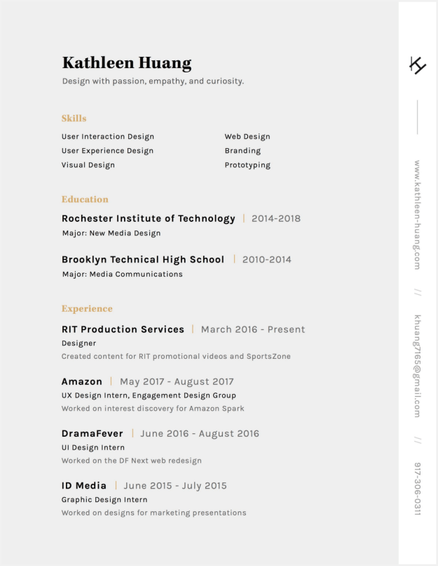 1*9750i0hX6-gZ6yULvKGMig 5 Amazing Designer Resumes that Passed Facebook's Bar Design Random