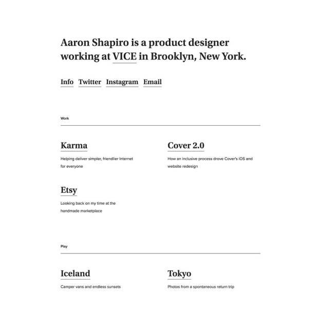 1*Pz710lxjF5Ac1Mg13Kc9VA 5 Minimalist Design Portfolios for Inspiration Design Random
