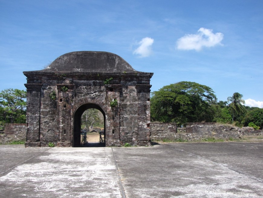 Architecture In Panama Image: Arches and columns reminiscent of 'quintessential Spanish architecture' are evident in this photo of a San Lorenzo Fort ruin.