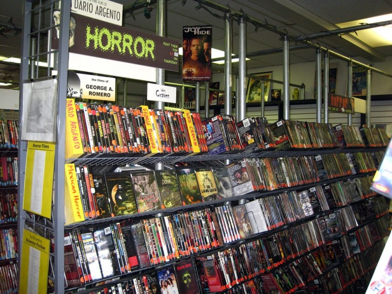 A 90s video store